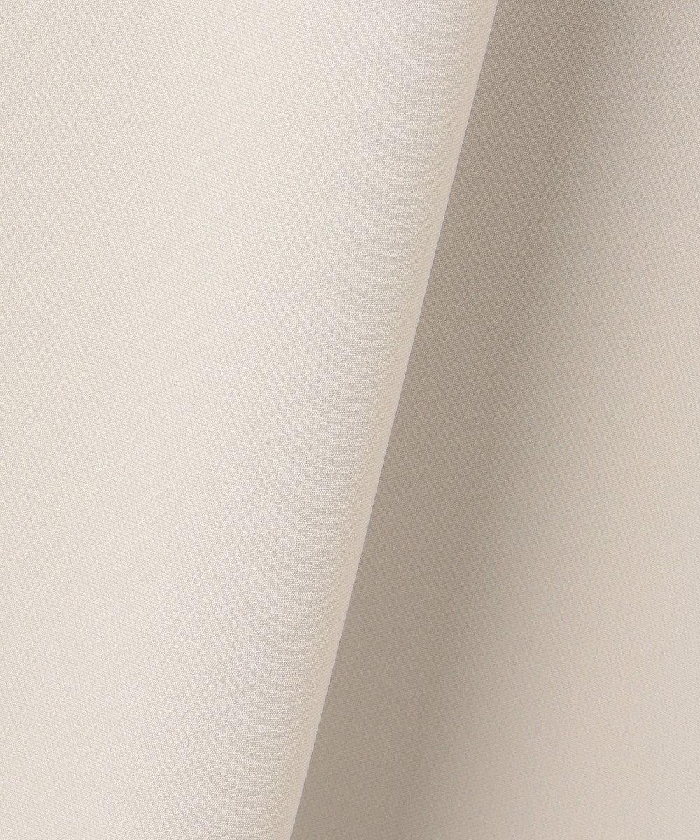 23区 L 【セットアップ対応】トリアセダブルジョーゼット ワンピース ベージュ系