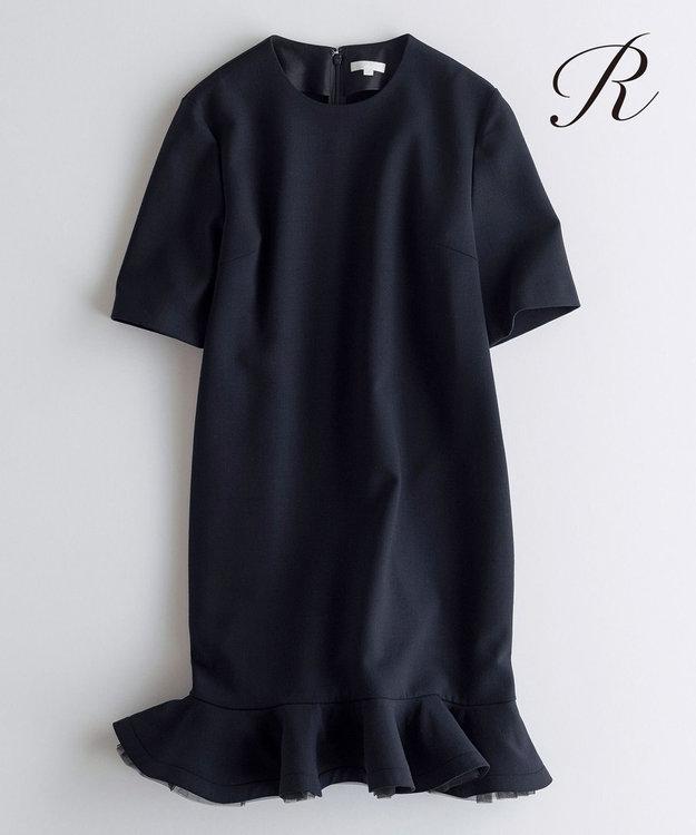 23区 S 【R(アール)】WOOL DOUBLE CLOTH ワンピース(検索番号R35)
