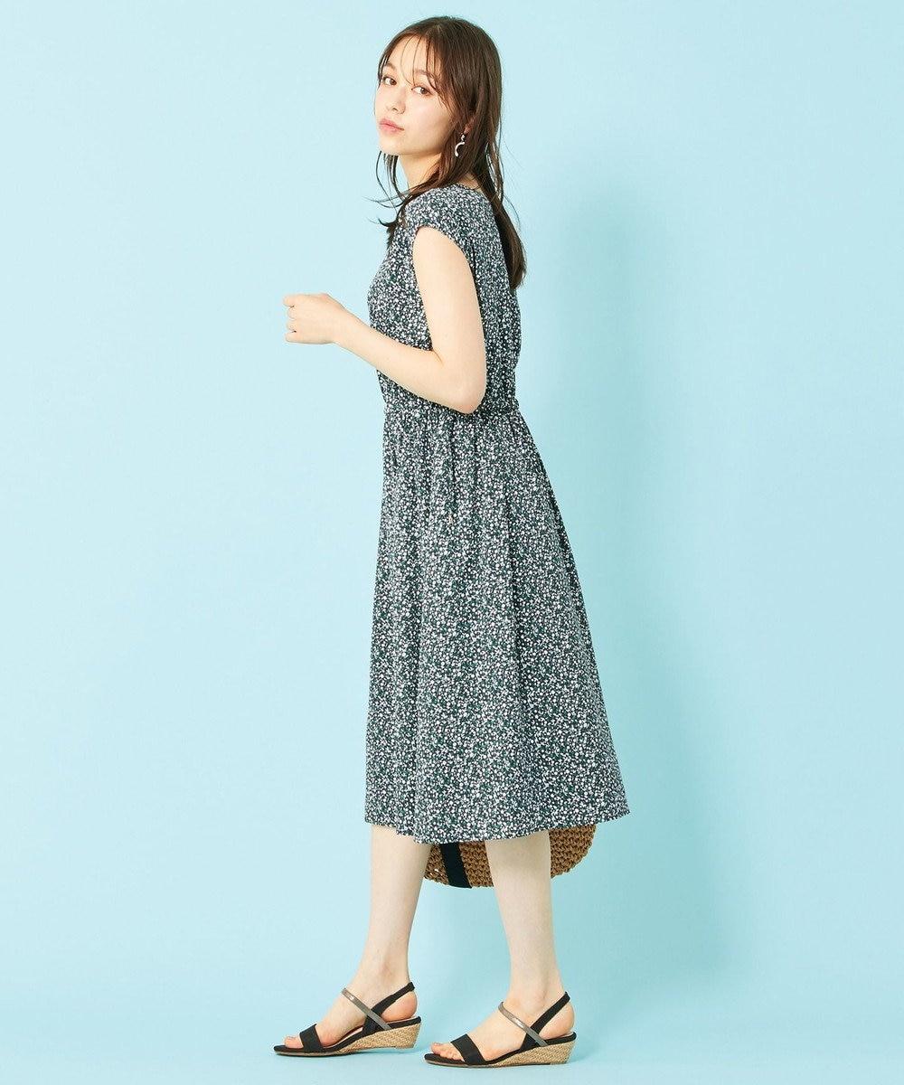 any SiS S 【2WAY】フローラル ワンピース ネイビー