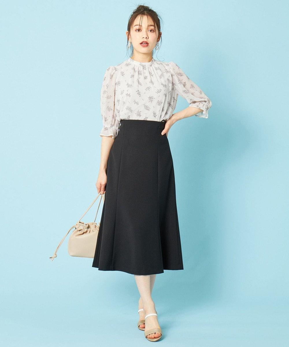 any SiS 【2SET】サスペンダー付きマーメイドスカートセット ワンピース ブラック系
