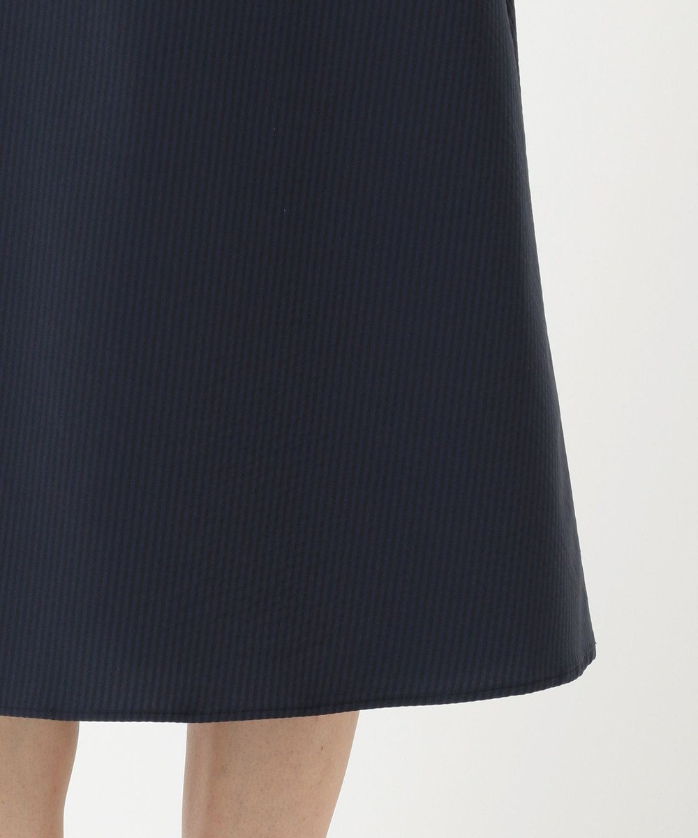 any SiS L 【美人百花9月号掲載】2SET ミニストライプセットアップ ワンピース ネイビー