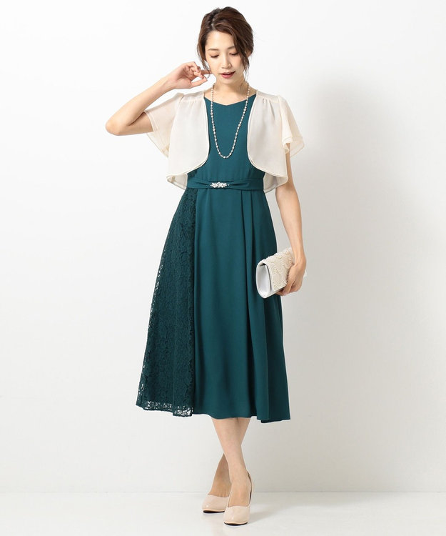 any SiS L 【2WAY】サイドレースジュエル ドレス