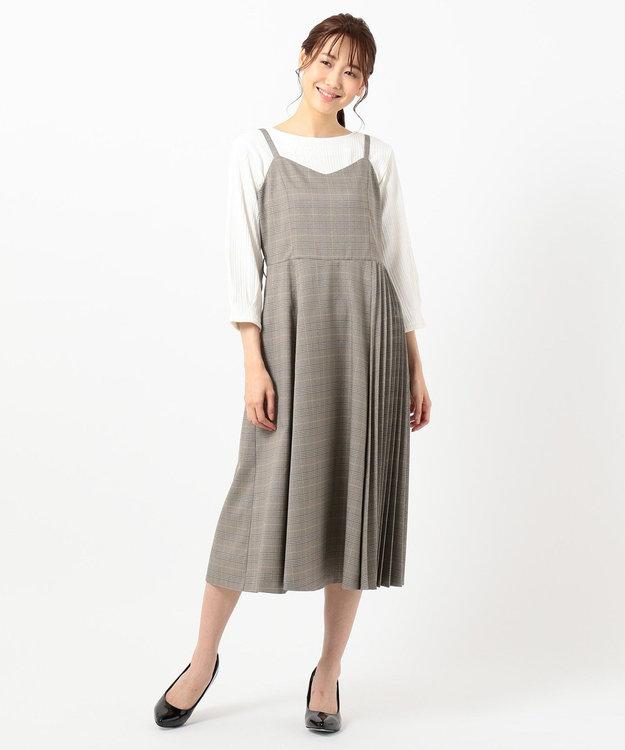 any SiS L 【美人百花10月号掲載】2SET サイドプリーツ ジャンドレ