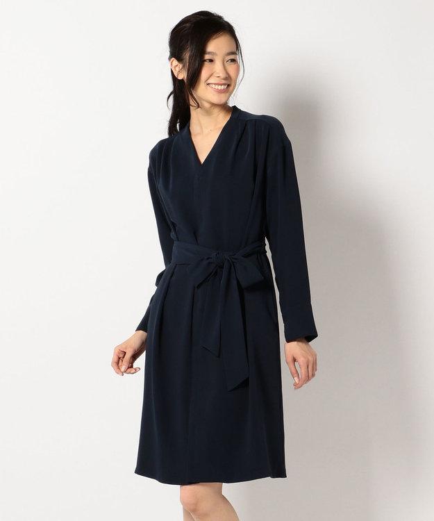 any SiS 【2WAY&洗える】ガウンドレス コート