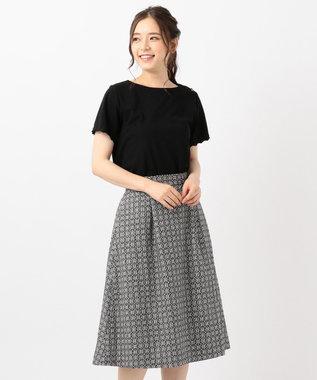 any SiS エンブロイダリースカート セットアップ ブラック×ブラック系