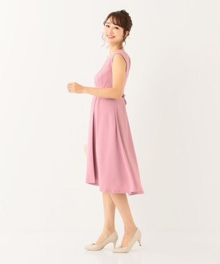 any SiS 【洗える】エレガントジュエル ドレス ピンク系