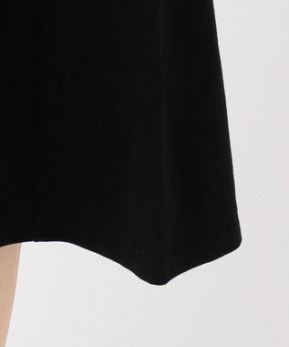 any SiS S 【洗える】Aラインフレア ワンピース ブラック系