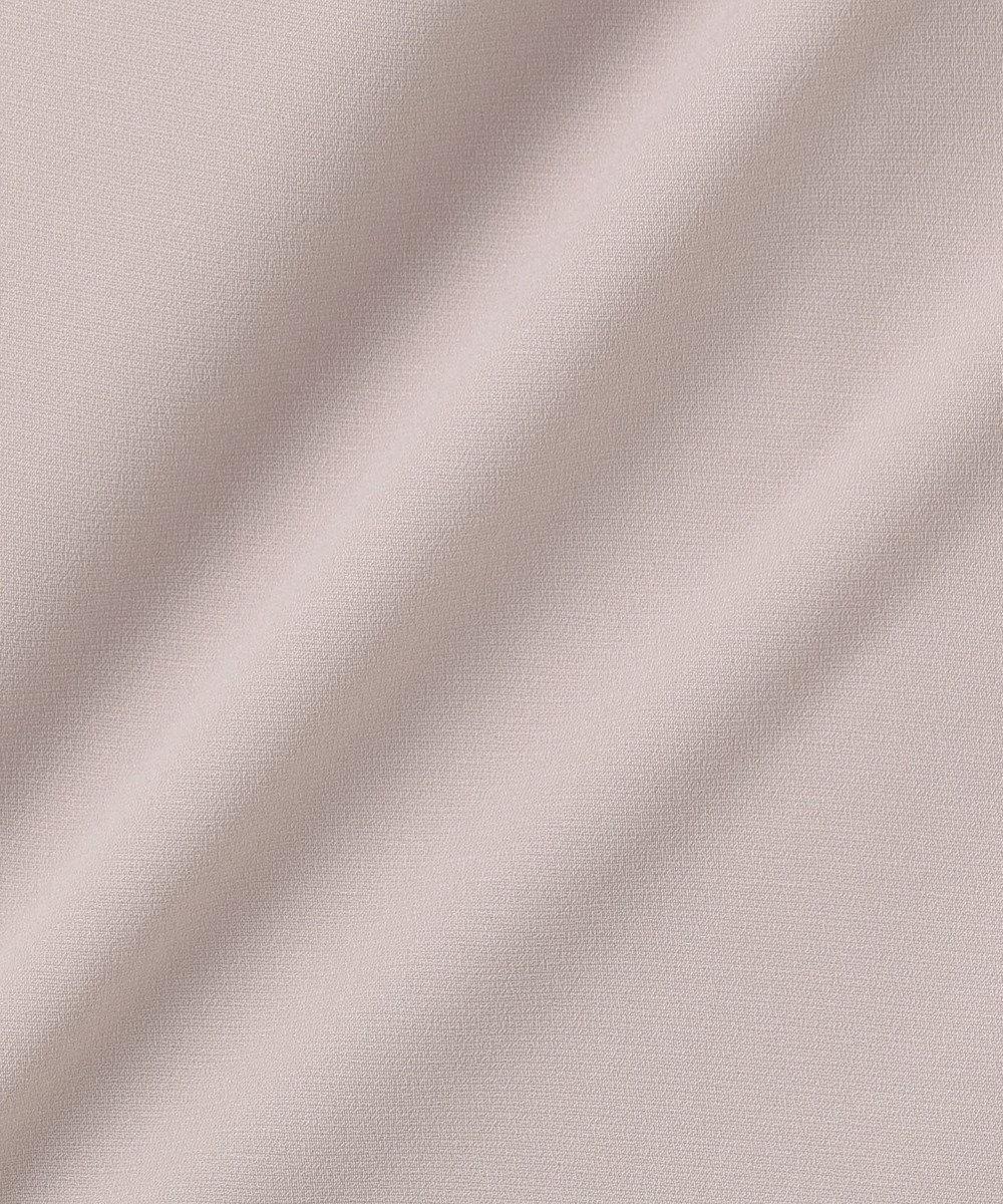 組曲 【WEB限定】サイドプリーツ ワンピース ライトグレー系