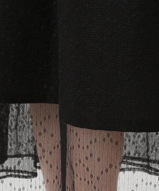 組曲 L 【PRIER】ノースリーブAラインドレス ブラック系3