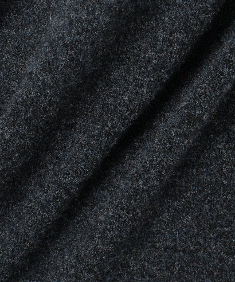 組曲 【WEB限定カラーあり】メランジバルキー ニットワンピース グレー系