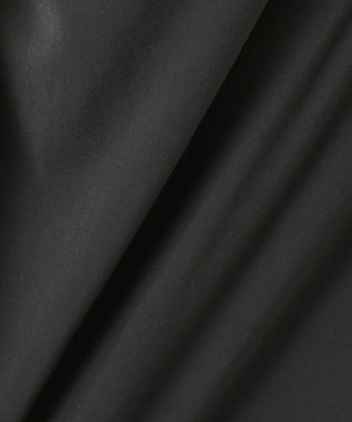 組曲 【シワ加工・洗える】Pe2WAYストレッチキャミワンピ―ス ブラック系