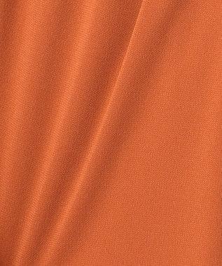 組曲 L 【洗える】ドライスムース ワンピース オレンジ系