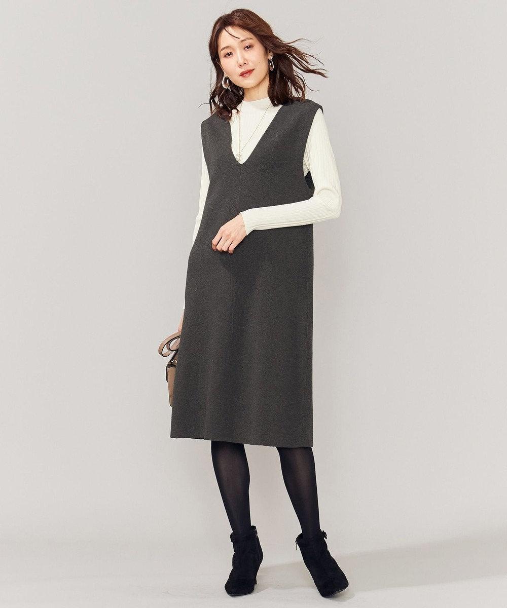 組曲 L 【セットアイテム】ジャンスカツインワンピース グレー系