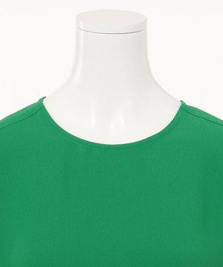 CK CALVIN KLEIN WOMEN 【2019SS インポート企画】クルーネックTシャツ ワンピース グリーン系