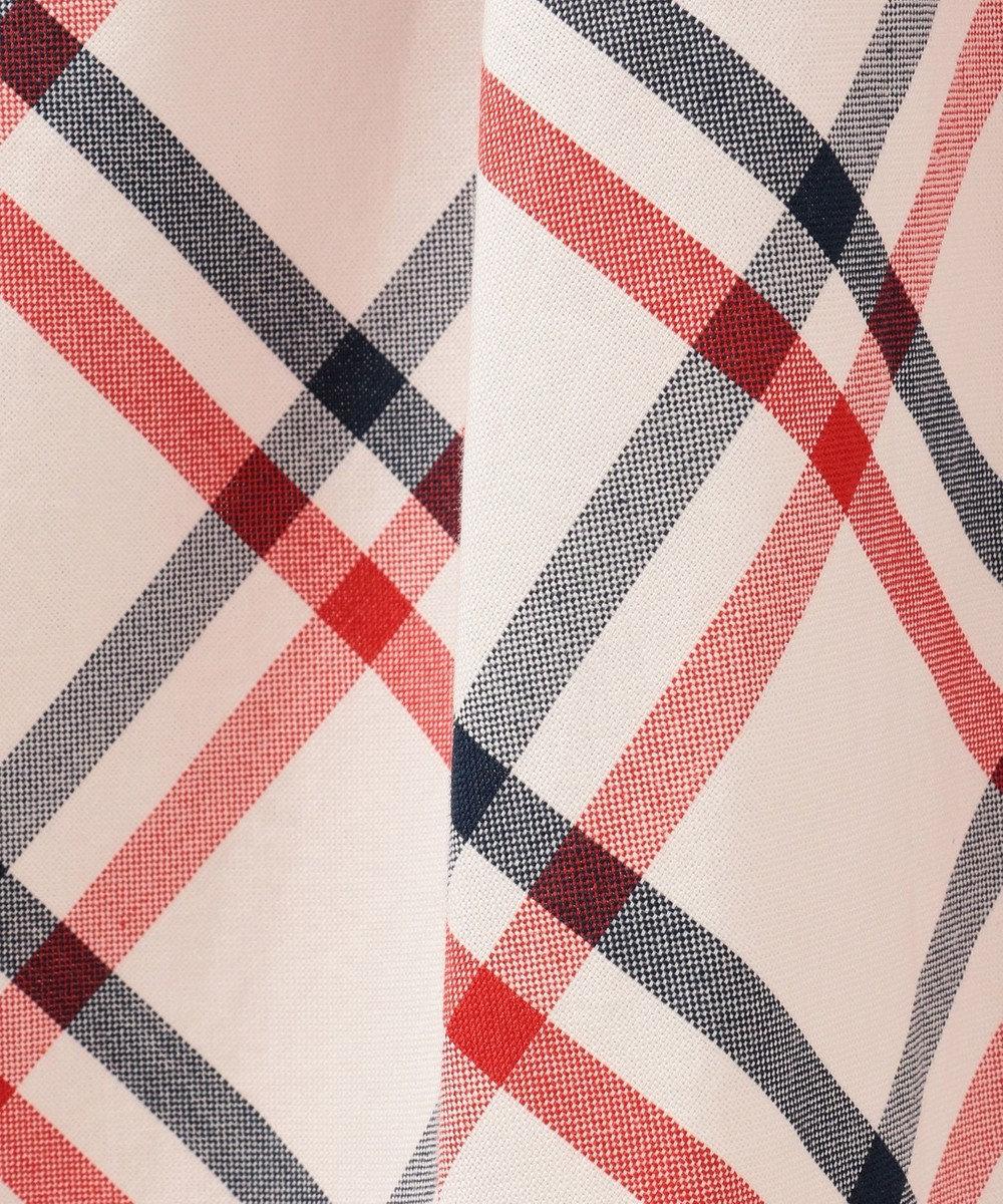CK CALVIN KLEIN WOMEN 【2019SS インポート企画】オックスフォードチェック ドレス レッド系3