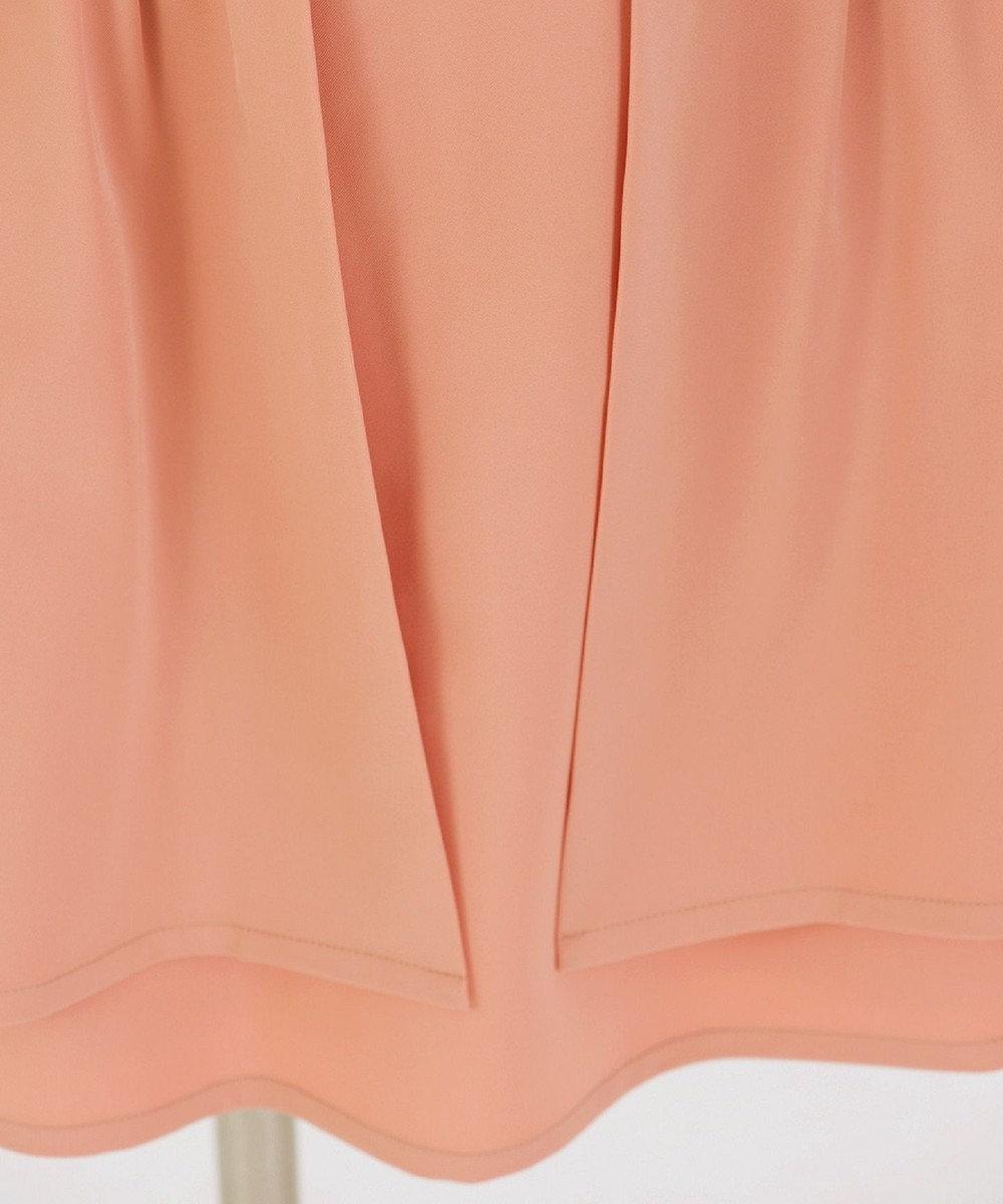 Tiaclasse 【ノースリ】Wスカートワンピース ピンク