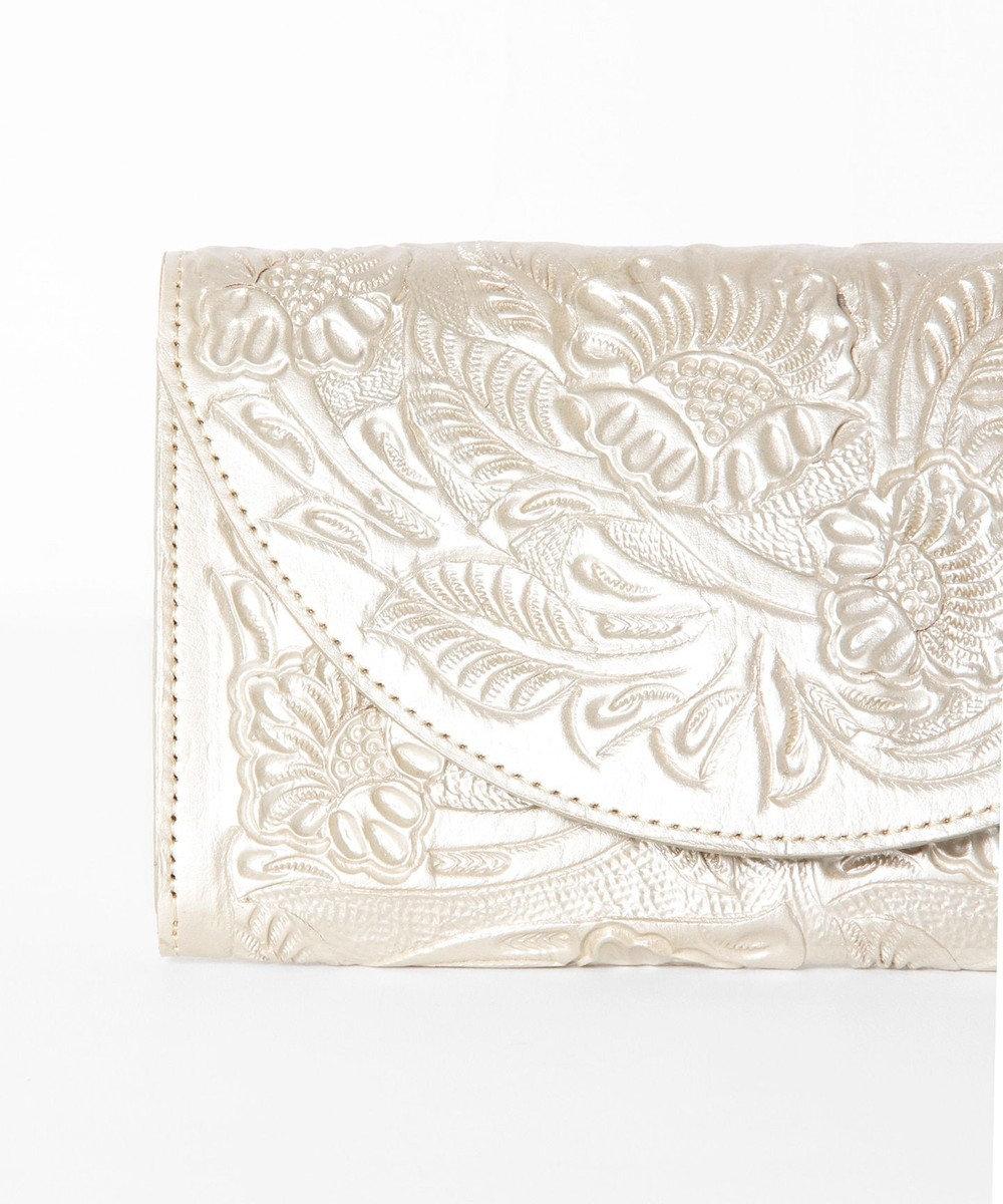 GRACE CONTINENTAL Flap Wallet ゴールド