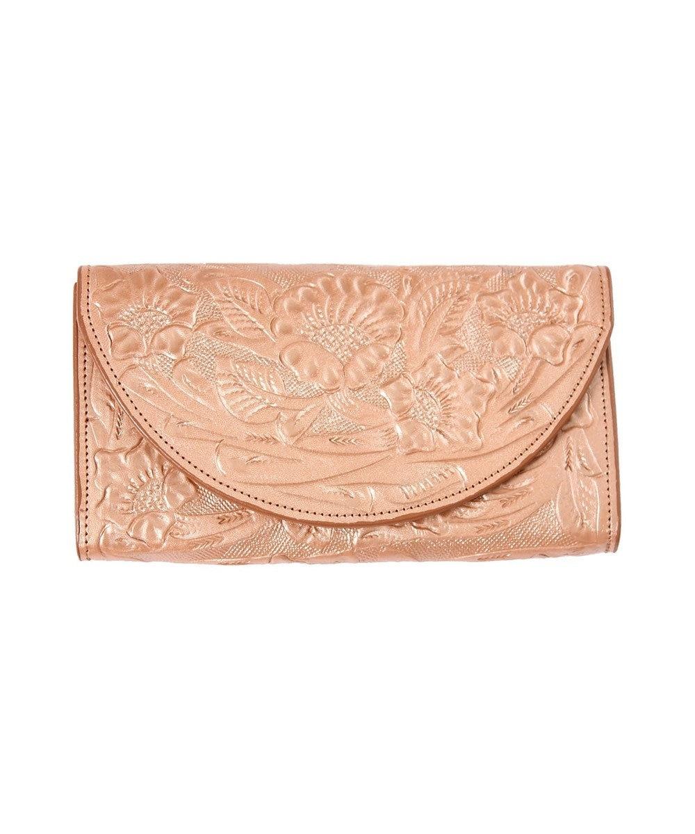 GRACE CONTINENTAL Flap Wallet ブロンズ