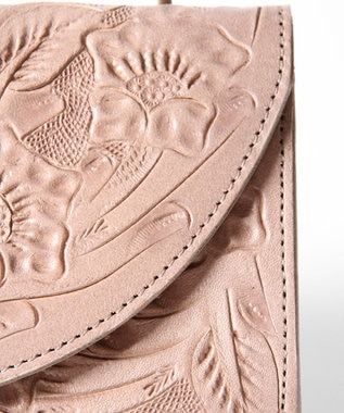 GRACE CONTINENTAL Flap Wallet グレー