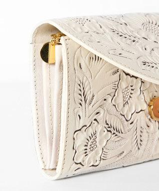 GRACE CONTINENTAL Flap Wallet キナリ