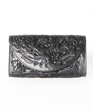 GRACE CONTINENTAL Flap Wallet ブラック