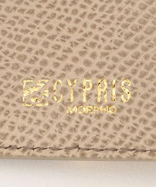 CYPRIS 【カード4枚収納】アレナリア 日本製 三つ折りコンパクト財布 トープ[00]