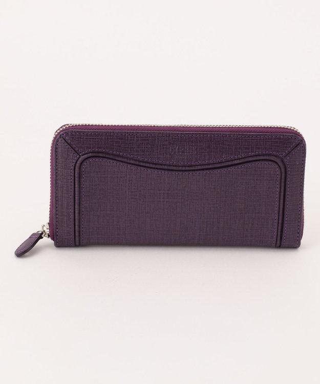 CYPRIS 【カード8枚収納】プロキオン 日本製ラウンドファスナー長財布