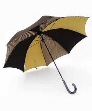 +RING 【数量限定】メンズ向け 長傘65cm ブラウン T271 ブラウン