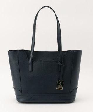CYPRIS 【アレナリア】日本製 牛革トートバッグ ネイビー[05]