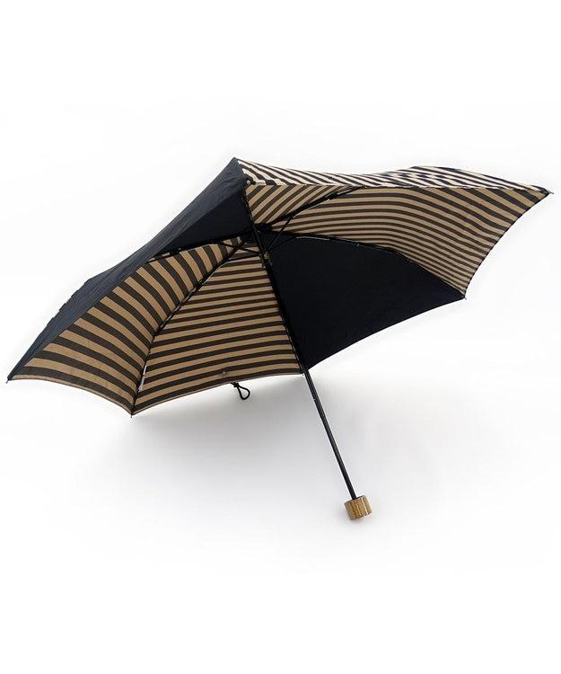 +RING 【数量限定】晴雨兼用(折傘) ブラウン T602
