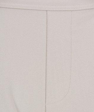 Tiaclasse 【日本製】真空プリーツの高機能テーパードパンツ オフホワイト