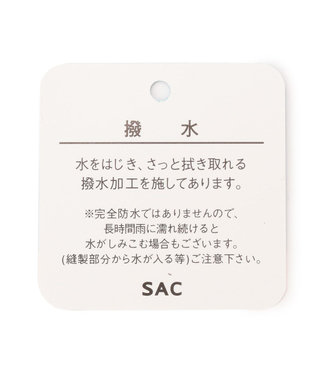 SAC 2way撥水ボストンバッグ/サック Happy&sac /ユッケン ピンク