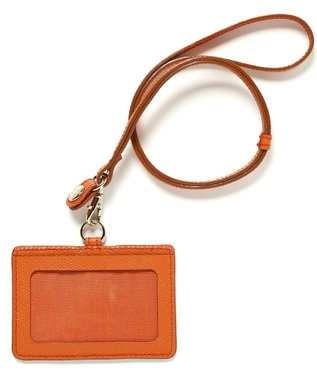 TOPKAPI [トプカピ] TOPKAPI 角シボ型押し・IDケース COLORATO コロラート オレンジ