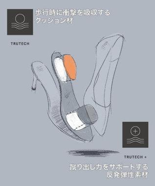 ROCKPORT 【WOMEN】トータルモーション75mm ポインティー トゥ ヒールパンプス ブラックパテント