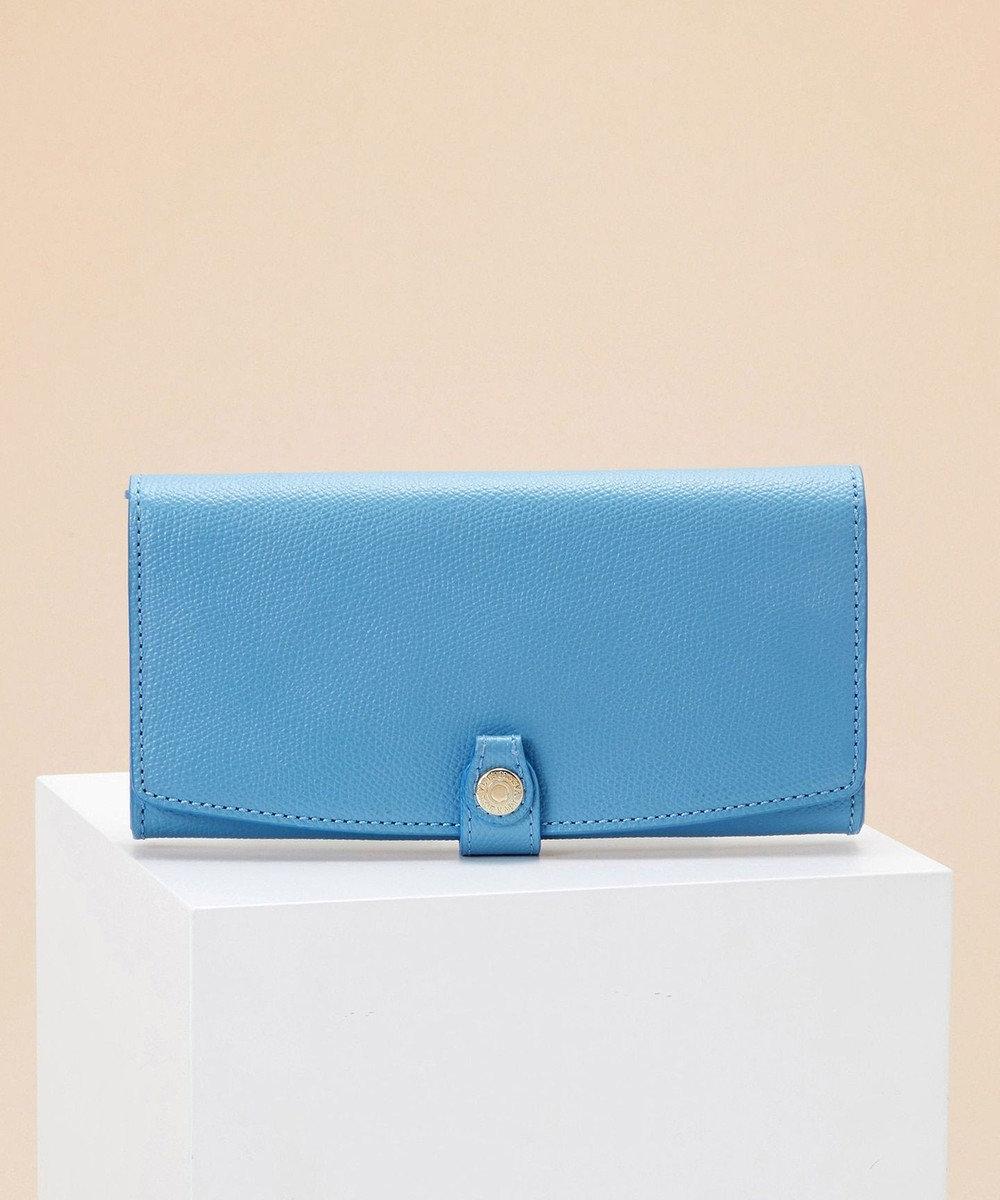 TOPKAPI [トプカピ] TOPKAPI 角シボ型押し・長財布 COLORATO コロラート ブルーグレー
