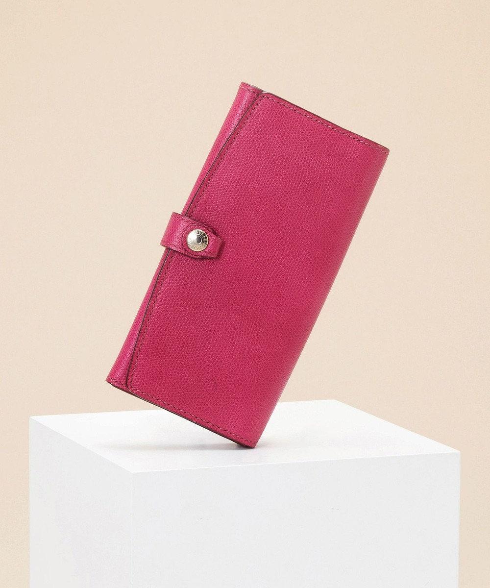 TOPKAPI [トプカピ] TOPKAPI 角シボ型押し・長財布 COLORATO コロラート ピンク