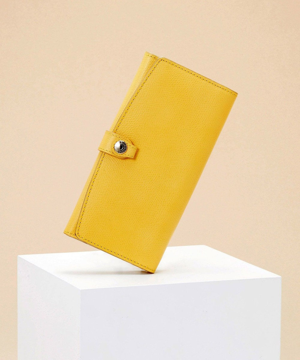 TOPKAPI [トプカピ] TOPKAPI 角シボ型押し・長財布 COLORATO コロラート レモンイエロー