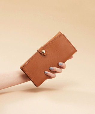 TOPKAPI [トプカピ] TOPKAPI 角シボ型押し・長財布 COLORATO コロラート キャメル