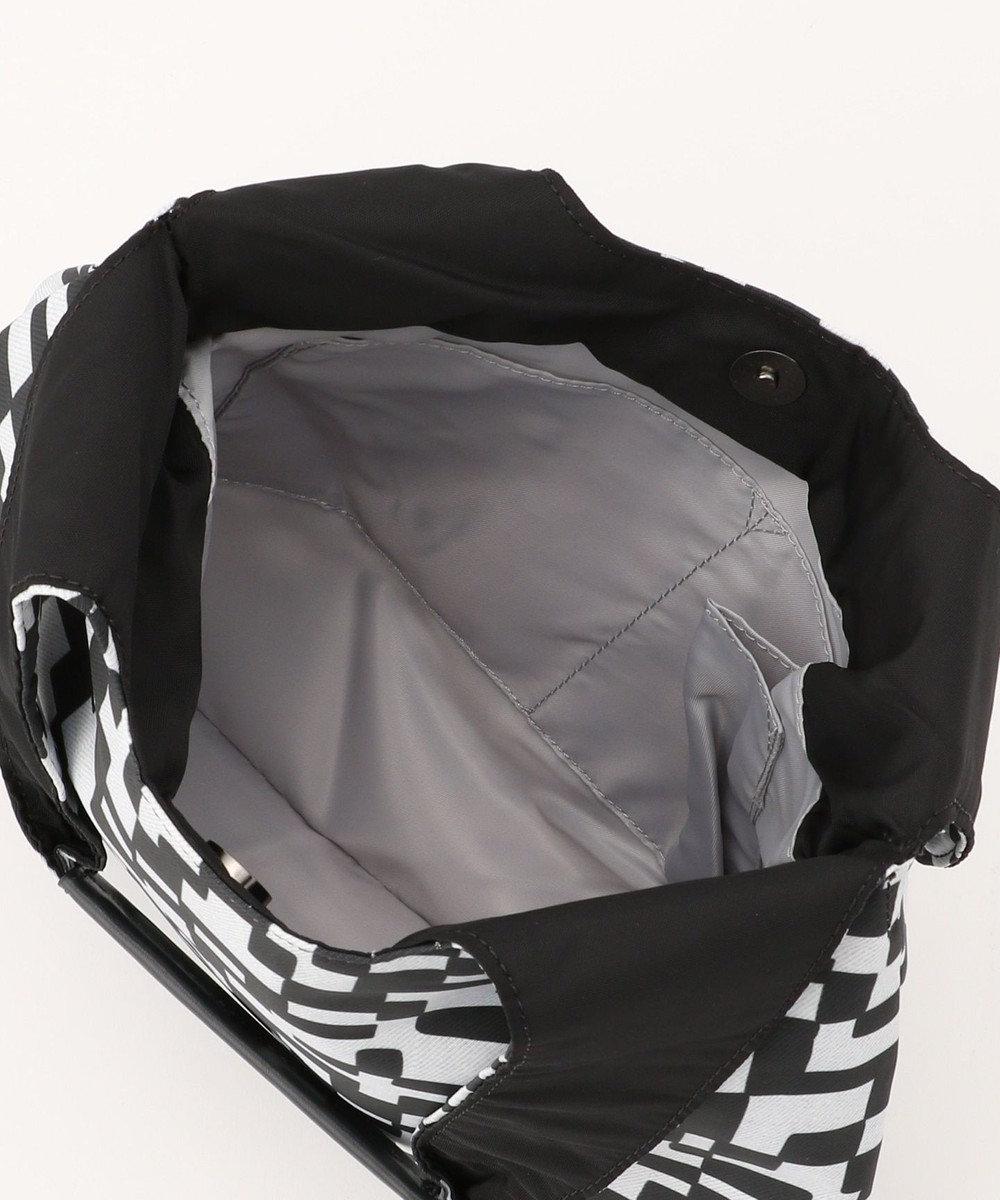 SAC オリジナルプリントトートバッグ/サック Pure pow wow/ボトル ホワイト・ブラック
