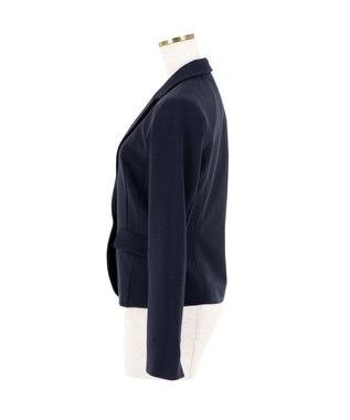 Tiaclasse 知性が薫る、美シルエットスーツ2点セット ブラック