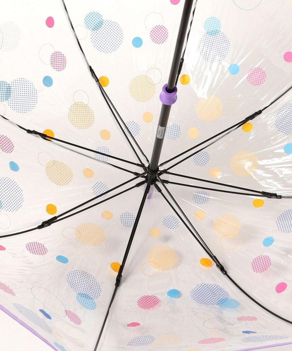MOONBAT FULTON マルチドット 長傘 パープル