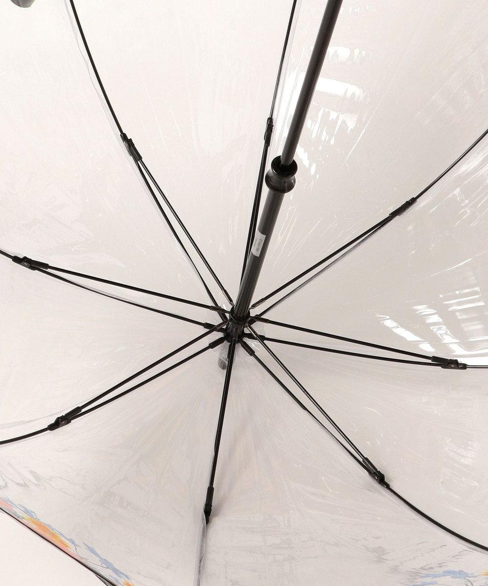 MOONBAT FULTON フラワー 長傘 ブラック