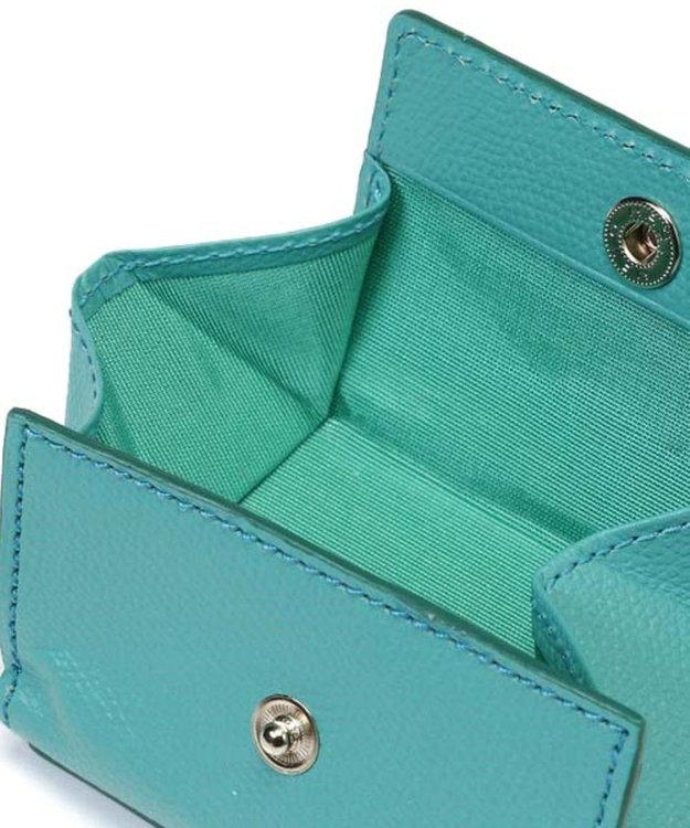 TOPKAPI [トプカピ] TOPKAPI 角シボ型押し・三つ折りミニ財布 COLORATO コロラート