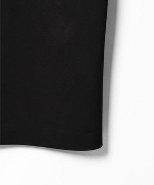 GRACE CONTINENTAL サテンクロスドレープワンピース ブラック