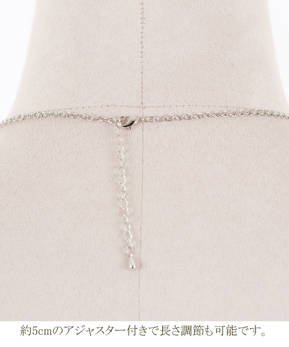 Tiaclasse 【日本製】グラデーションフープネックレス シルバー