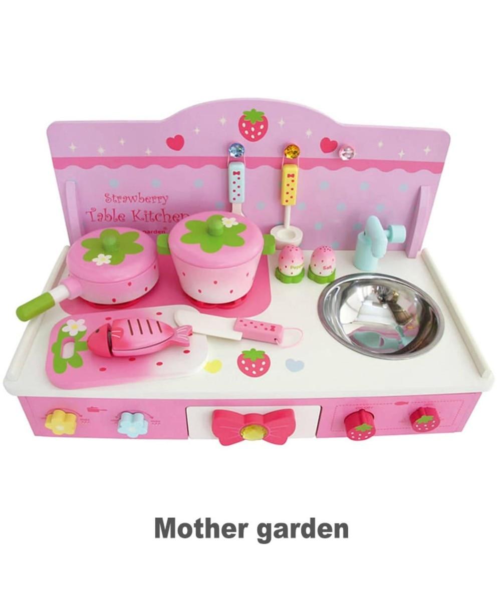 【オンワード】 Mother garden>おもちゃ マザーガーデン テーブルキッチンティアラ・ピンク 623-95956 ピンク(淡) - 【送料無料】