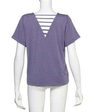 Chut! INTIMATES 【吸水速乾・接触冷感】 フィールクール Tシャツ FEEL COOL T-SHIRT (C214) ディープパープル