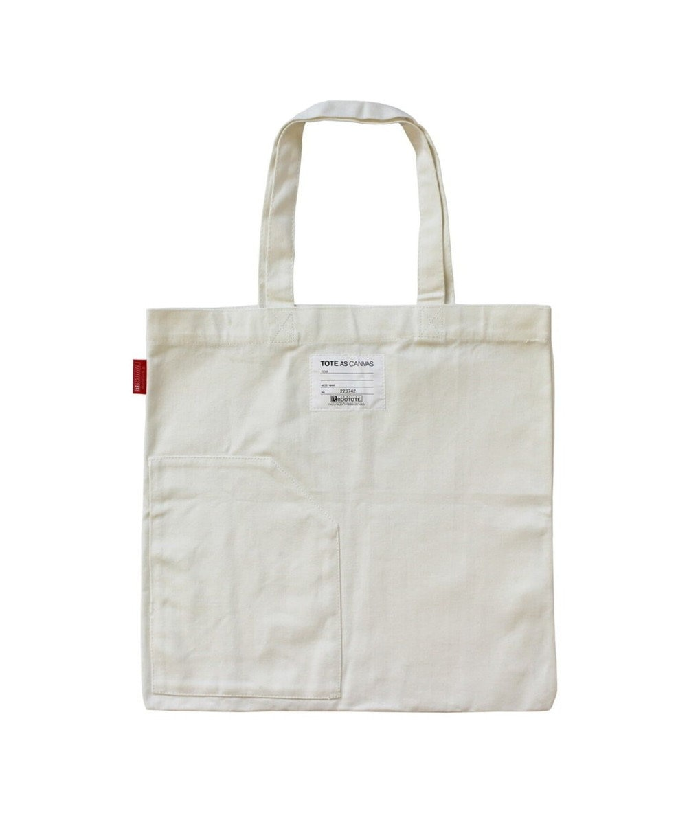 ROOTOTE 9010 ルートート (ROOTOTE) /TOTE AS CANVAS (トート・アズ・キャンバス) 04 ホワイト