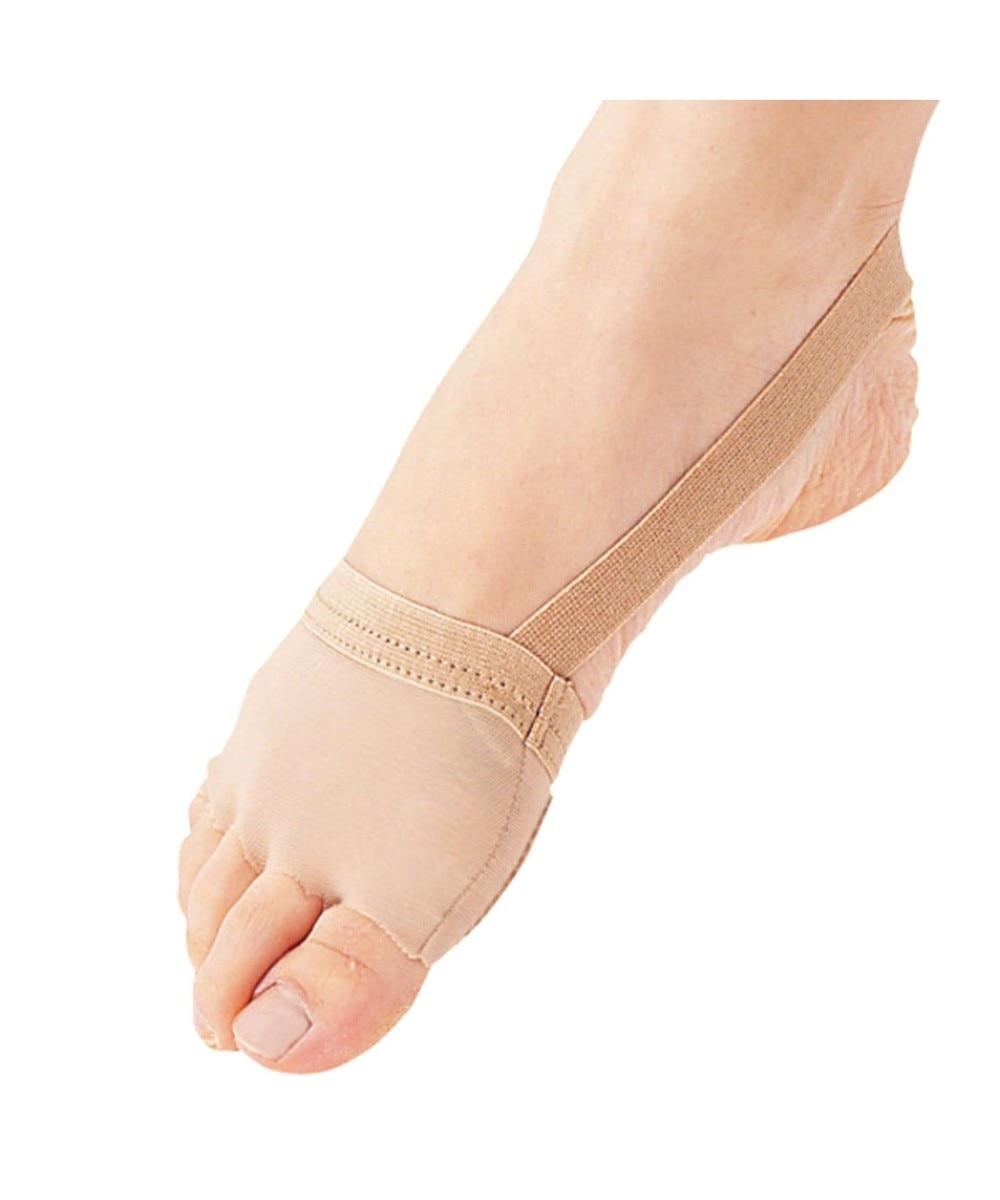 【オンワード】 Chacott>ダンス・フィットネス スキンシューズpro ベージュ M レディース