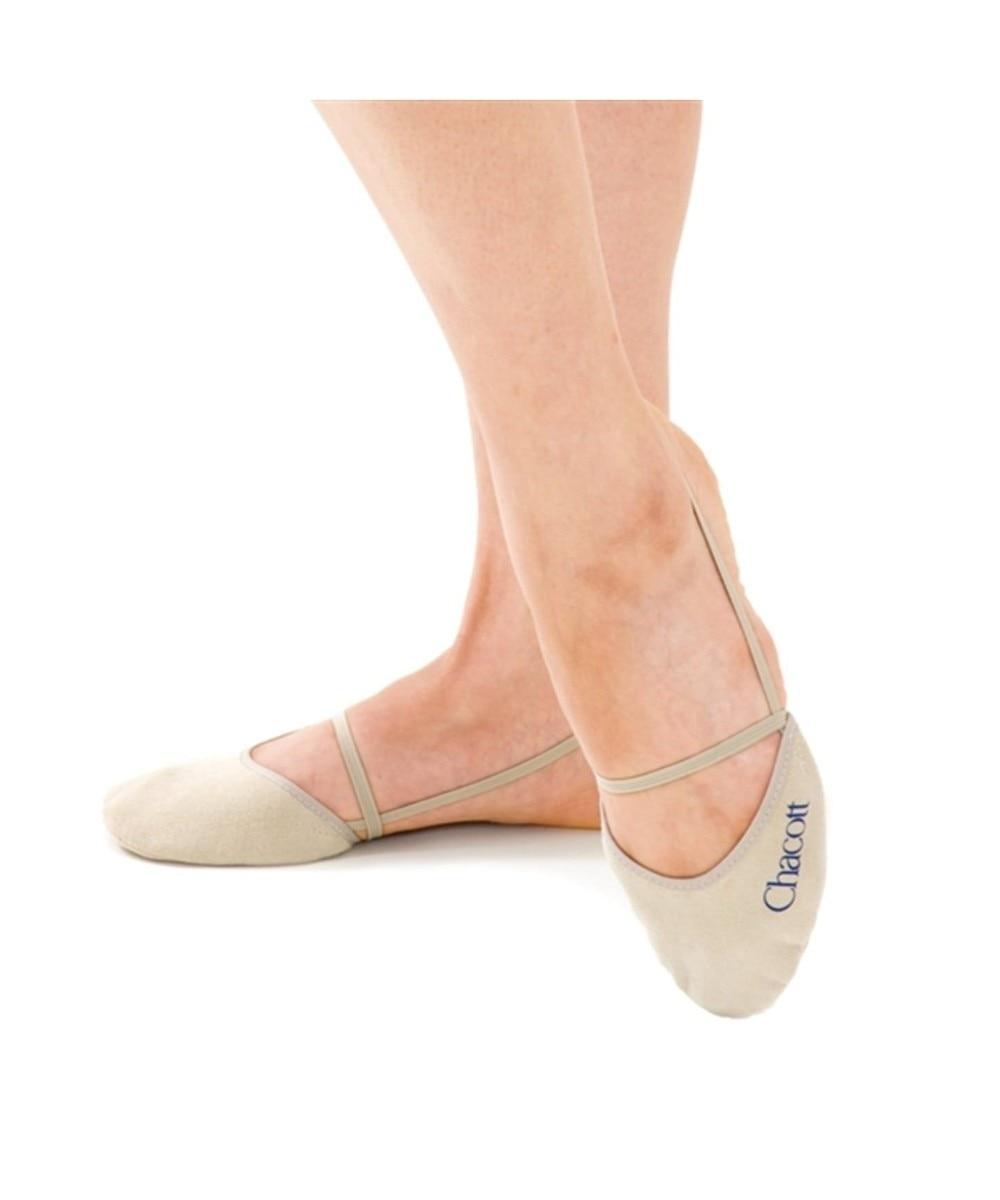【オンワード】 Chacott>ダンス・フィットネス ウォッシャブルハーフシューズ ベージュ SS レディース